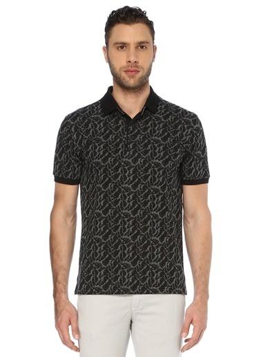 George Hogg Erkek 7003329 Polo Yaka Slim Fit Tshirt Siyah